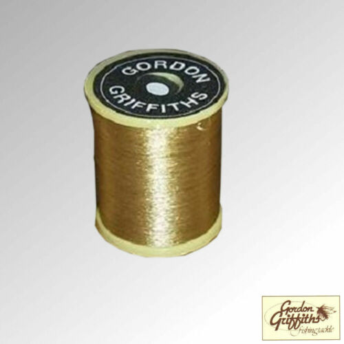 Gordon Griffiths Thread Wisp ultrafins 8//0 Cannelle bobine 100 m Flamme