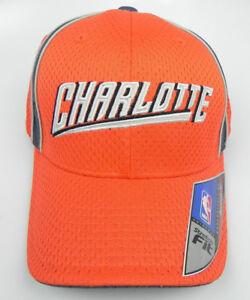 CHARLOTTE BOBCATS NBA FLEX-FIT STRETCH FIT SIZE ADULT LARGE REEBOK CAP HAT NEW!