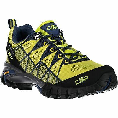 Glorioso Cmp Trekking Scarpe Outdoorschuh Tauri Low Trekking Shoe Wp Verde Chiaro Impermeabile-mostra Il Titolo Originale Materiali Superiori