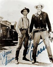 RARE SIGNED STILL JAMES ARNESS AND DENNIS WEAVER GUNSMOKE