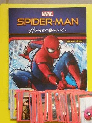 Collectibles Album Vide Panini Spiderman Homecoming Avec 190/192 Images A Coller Ss Doubles Pure White And Translucent