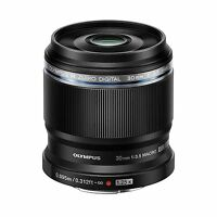 Olympus M.zuiko Digital Ed 30mm F/3.5 Macro Lens M43 (black) In Stock