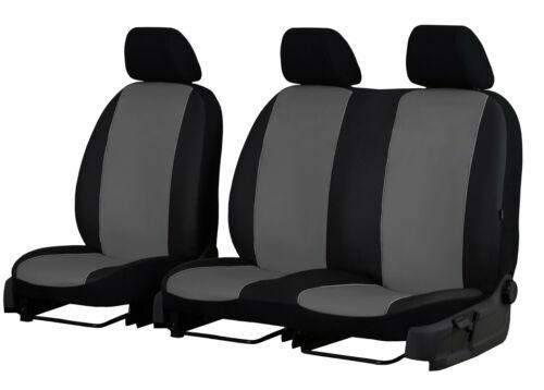 VAUXHALL VIVARO VAN UP TO 2014 2+1 ECO LEATHER UNIVERSAL FRONT SEAT COVERS