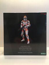 Utapau Clone Trooper Figure ARTFX By Kotobukiya Star Wars Figure NEW SEALED !!!