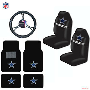 Admirable Details About New Nfl Dallas Cowboys Car Truck Seat Covers Floor Mats Steering Wheel Cover Alphanode Cool Chair Designs And Ideas Alphanodeonline