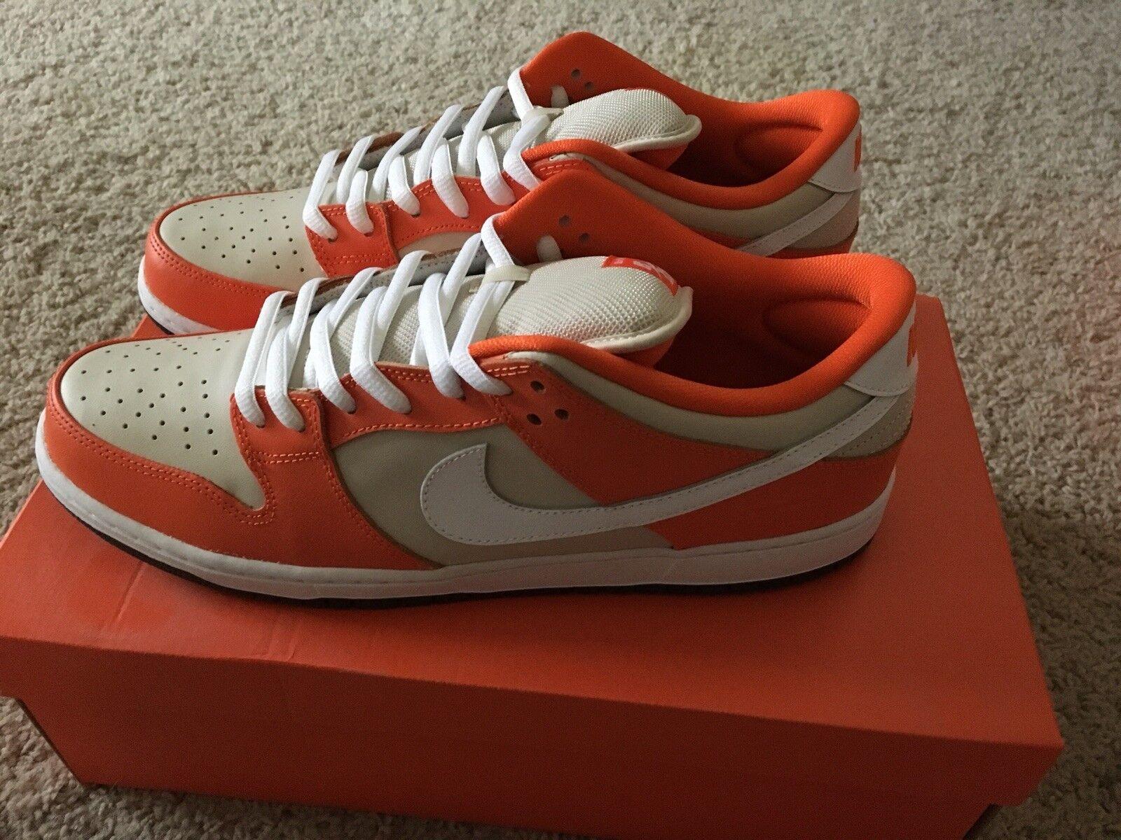 Nike Dunk Low SB Orange Box Size 13 - Rare - Deadstock