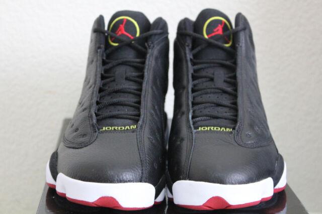 sports shoes d13e3 39e77 AIR JORDAN XIII 13 BLACK VARSITY RED PLAYOFF RETRO SZ. 10.5 BRAND NEW DS  2011