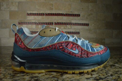 Nike Air Max 98 OG Wild West Blue University Red G