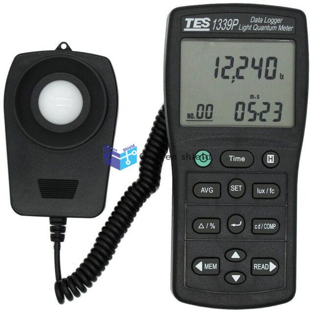 TES 1339P Data Logger Light Quantum Meter