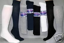 Mens Over The Calf Crew Socks  10-13 Asst Colors 12 Pr.
