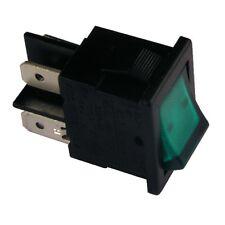 Wippschalter H8553VBNAE Schalter 2-polig EIN-AUS 10A 250V grün beleuchtet 855228