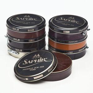 Saphir-Medaille-D-039-Or-Pate-De-Luxe-Wax-Polish-100ml