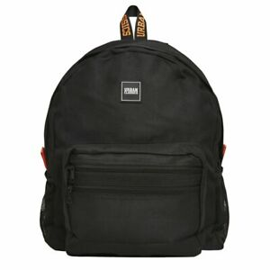 Urban-Classics-BASIC-Backpack-Rucksack-schwarz