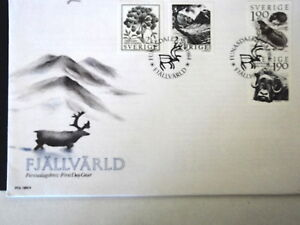 SWEDEN-1984-FJALLVARLD-MOUNTAIN-WORLD-LEMMING-FIRST-DAY-COVER