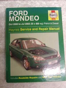 ford mondeo 2000 2003 petrol diesel haynes service workshop rh ebay co uk 2016 Ford Mondeo 2005 Ford Mondeo
