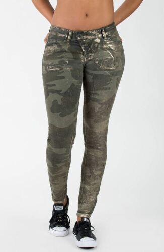 KP 89,99 € GR 27-34 Blue Monkey Skinny-fit-Jeans Camouflage Pants LILLY NEU!!