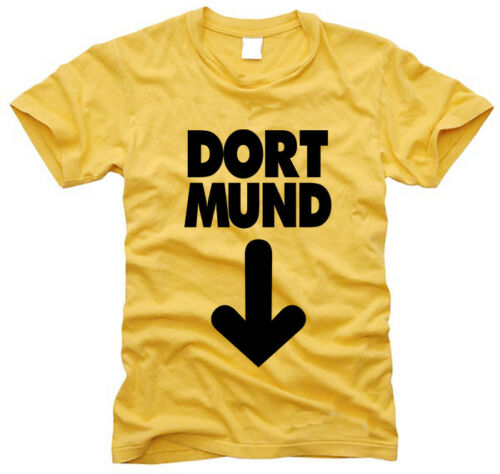 S bis XXL Dort Mund Dortmund Gr Herren-T-Shirt