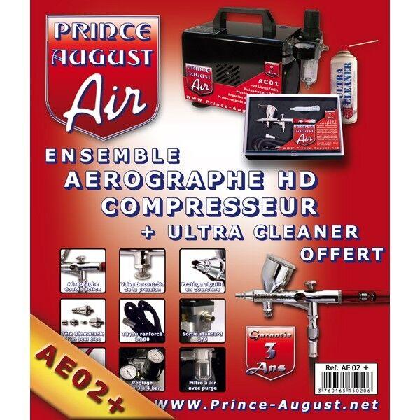 PRINCE AUGUST AE02+ COFFRET COMPLET COMPLET COMPLET (3 ANS DE GARANTIE) ca62fd