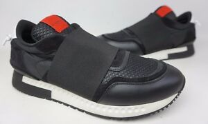 Givenchy-Runner-Elastic-Slip-On-Men-039-s-Black-Sneakers-Shoes-Size-45-EU-12-US
