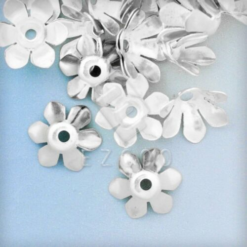 20g Appr.50pcs Flower Beads Caps End Jewelry Findings Beading Supplies 13x13x5mm