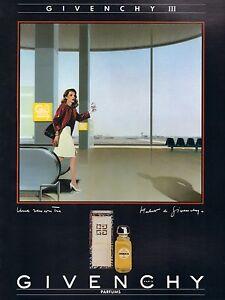 Perfume Publicité Givenchy Ad Iii 1989 ▬► Print French Détails Sur Femme Original Parfum gyYb76f