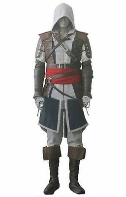 Assassin's Creed IV Costume - 4 Black Flag Edward Kenway Cosplay Whole Set