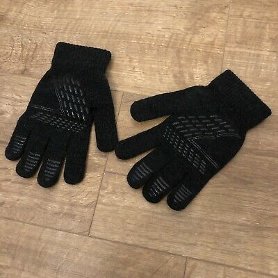 Coskefy Winter Knit Gloves Touchscreen Gloves Wool Lined Texting Gloves Running