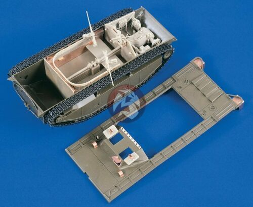 Verlinden 1/35 LVT(A)-2 Water Buffalo Conversion and Interior (for Italeri) 2024