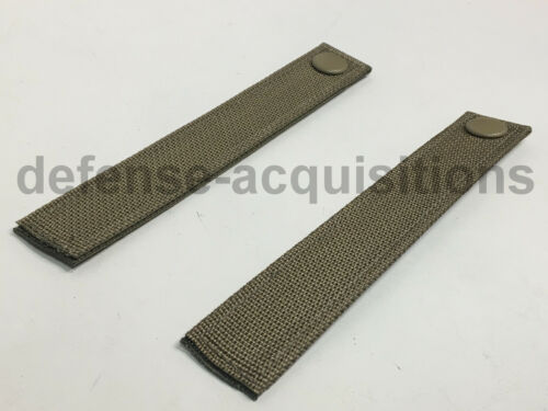 SET OF 2 Military MOLLE Replacement Straps 6.5 INCH Tactical Pouch Pack MULTICAM