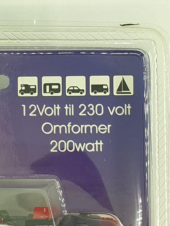 Omformer, 12-220V