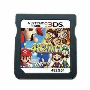 Video-Game-Card-For-Nintendo-NDS-NDSL-2DS-3DS-NDSI-Console-482-In-1-Cartridge