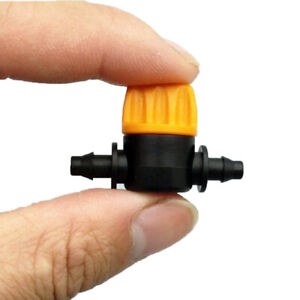 5pcs-4-7mm-Miniature-Coupling-Barbed-Slotted-Water-Hose-Valve-Connectors-Hot