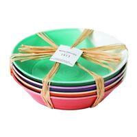 Royal Doulton 1815 Bright Colors Mixed Patterns Pasta Bowls (set Of 4), 9.1, Mu on sale