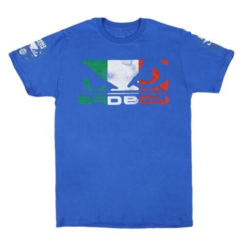 Bad Boy T-Shirt Pride Italy Royalblau S M XL 2XL MMA Muay Thai SALE UVP 31,90