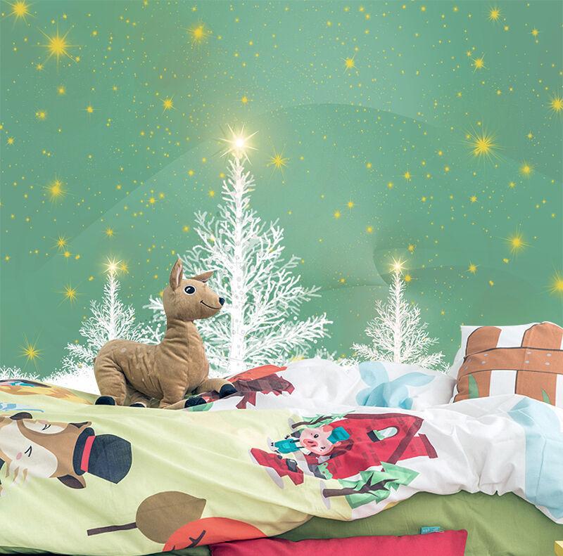 3D Schöne Weihnachtsbaum 33 Fototapeten Wandbild BildTapete Familie DE