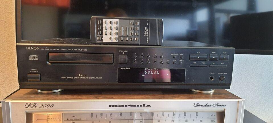 CD afspiller, Denon, Dcd-625