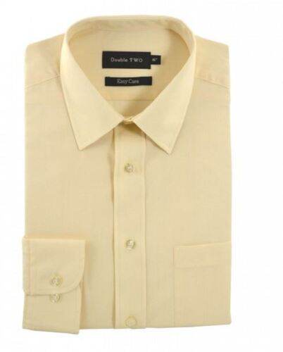 Double Two Classic Cotton Blend Long Sleeved Shirt in Cream