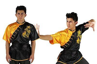 Sporting Goods Expressive Uniforme Kimono Kung Fu Uniforme Chang Quan Uniforme Shan Xi Negro Drago Bordado
