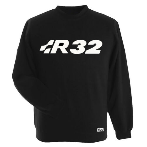 "EAKS® Herren Sweatshirt /""R32-SCHRIFTZUG/"" Emblem Pullover Pulli mk 4 5 Golffahrer"