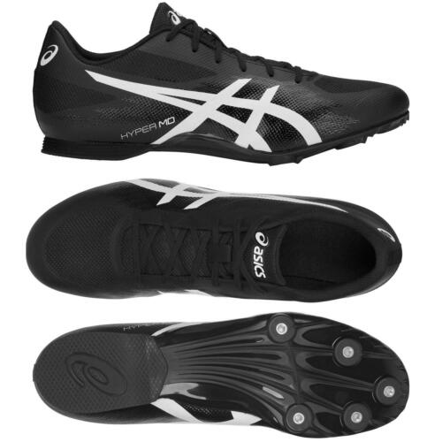 Asics Mens Hyper MD 7 Cushioned Breathable Running Spikes Shoes