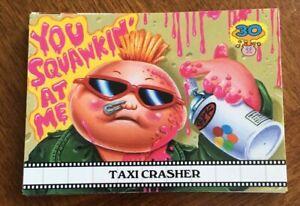 2015 GARBAGE PAIL KIDS 30TH ANNIVERSARY FAMOUS MOVIE CARD SET 15//15 RARE GPK