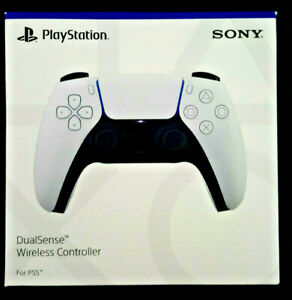 BRAND NEW Genuine Sony PlayStation 5 PS5 DualSense Wireless Controller - White