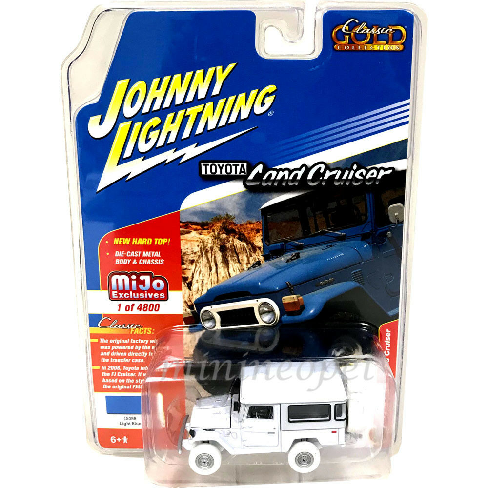 JOHNNY LIGHTNING JLCP7161 1980 TOYOTA FJ LAND CRUISER 1 64 WHITE LIGHTNING Chase