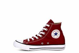 Converse-Women-039-s-Chuck-Taylor-All-Star-Seasonal-Color-Hi-Burgundy-Classic-Design