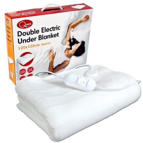 Benross Double Electric Heated Under Blanket 120x130cm 3 Heat Settings For Online Ebay