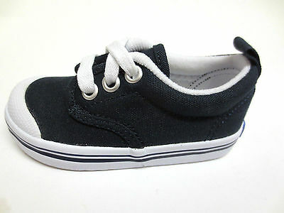 Boys Keds Navy Canvas Lace Up Shoes/Pumps Scooter