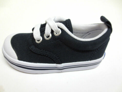Boys Keds Navy Canvas Lace Up Shoes//Pumps Scooter