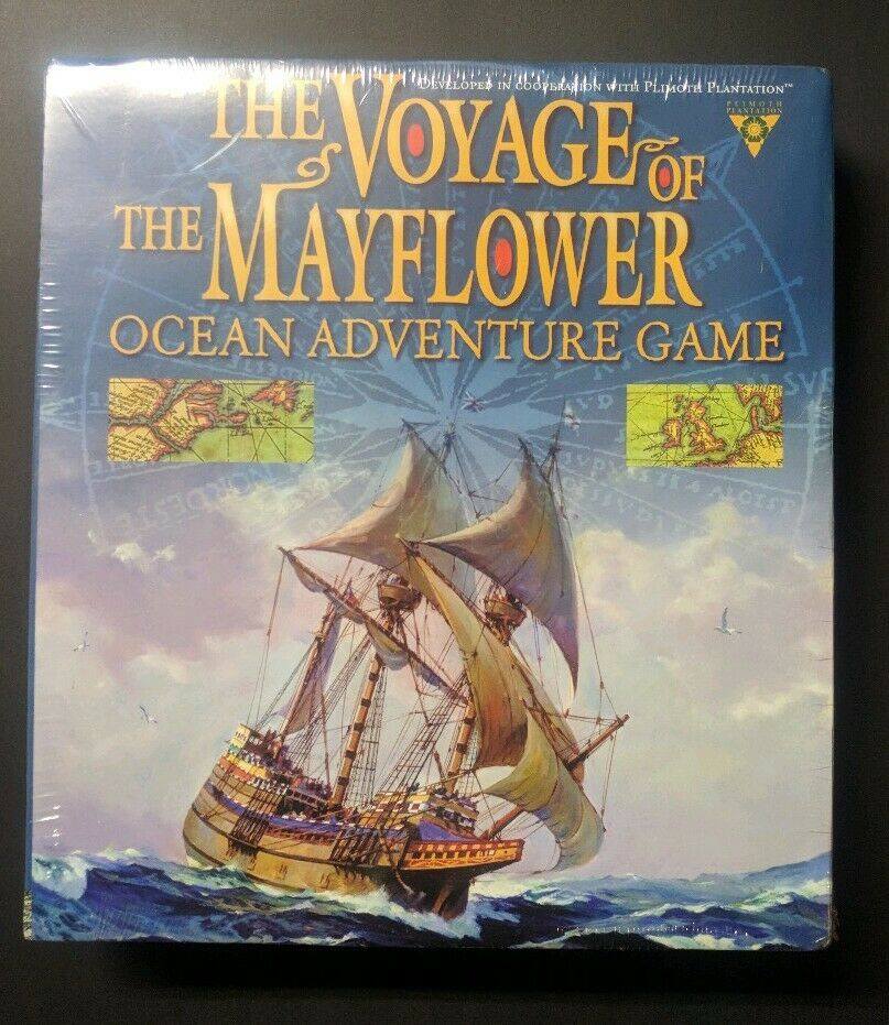 The Voyage of the Mayflower Ocean Adventure Game