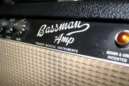 Blackface Mod Kit for Vintage Fender Bassman 50 Silverface Amps
