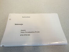 Tektronic P6434 Mass Termination Probe Manual